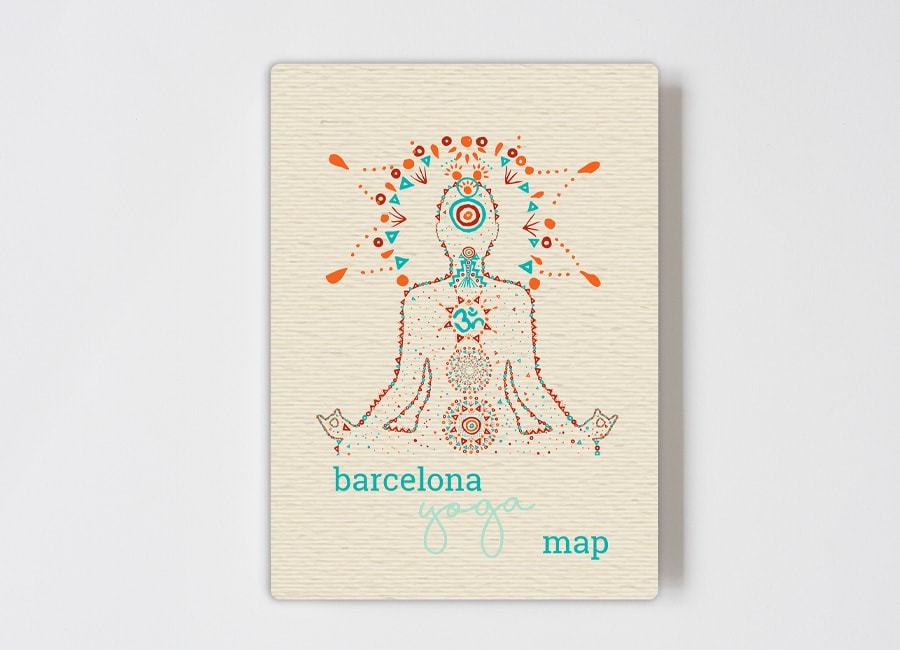 Barcelona Yoga map